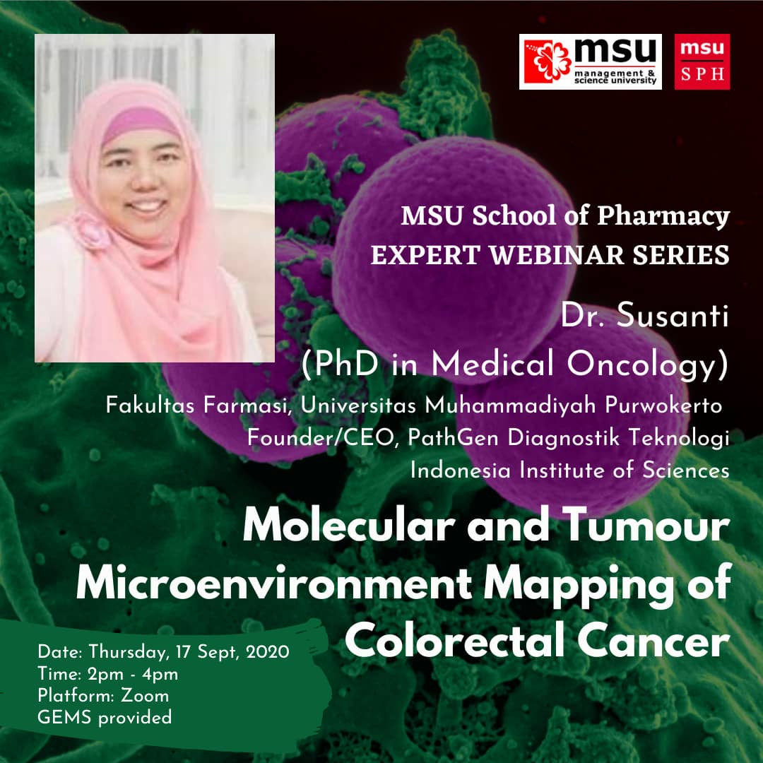 MSU School of Pharmacy Expert Webinar