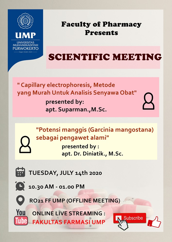 Scientific Meeting 3: Now Open for Public