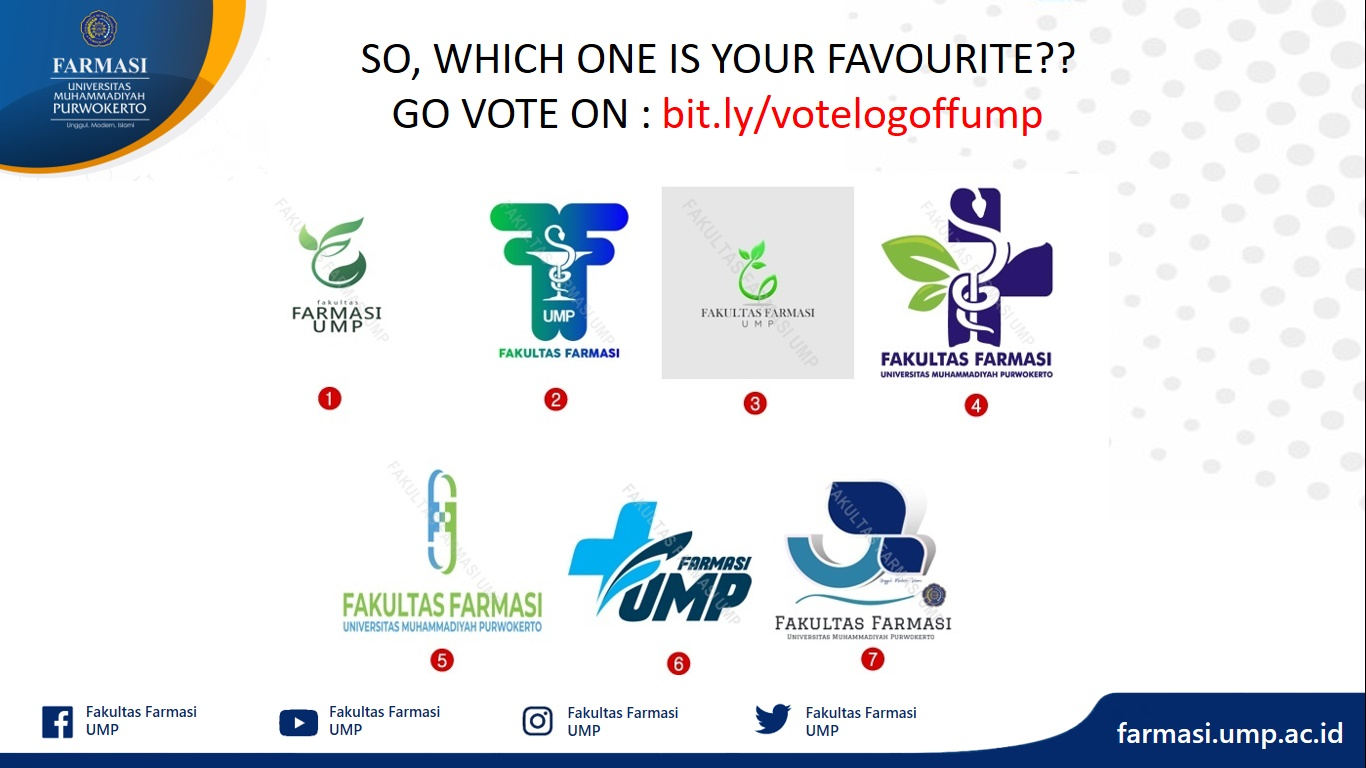 VOTE YOUR FAVOURITE FAKULTAS FARMASI UMP LOGO!!!